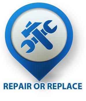 repair or replace